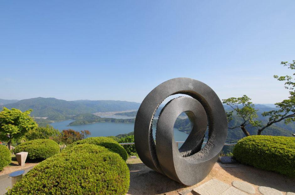 福井県三方五湖の景色