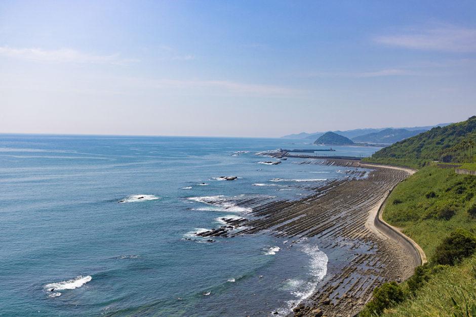 宮崎県・堀切峠の景色